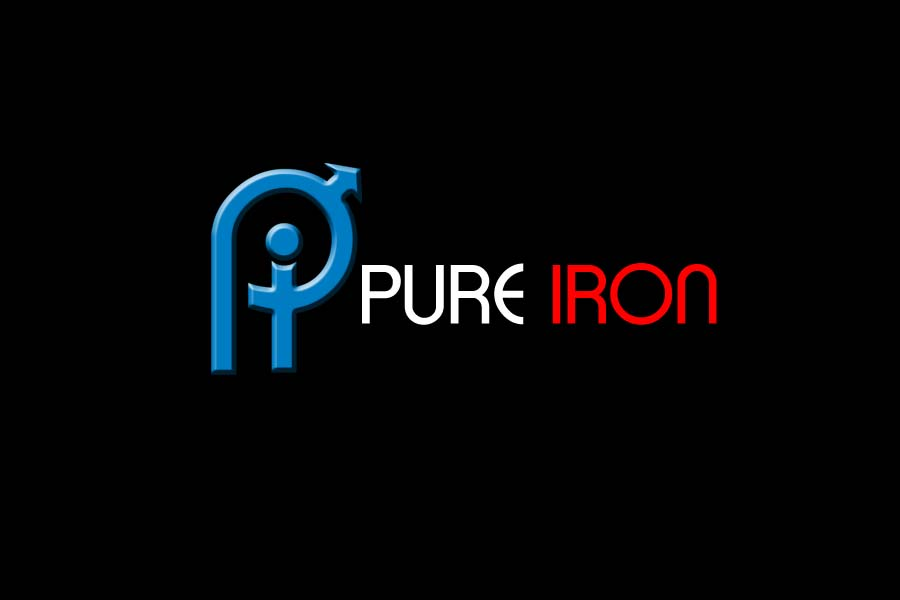 Logo Design by Private User - Entry No. 214 in the Logo Design Contest Fun Logo Design for Pure Iron.