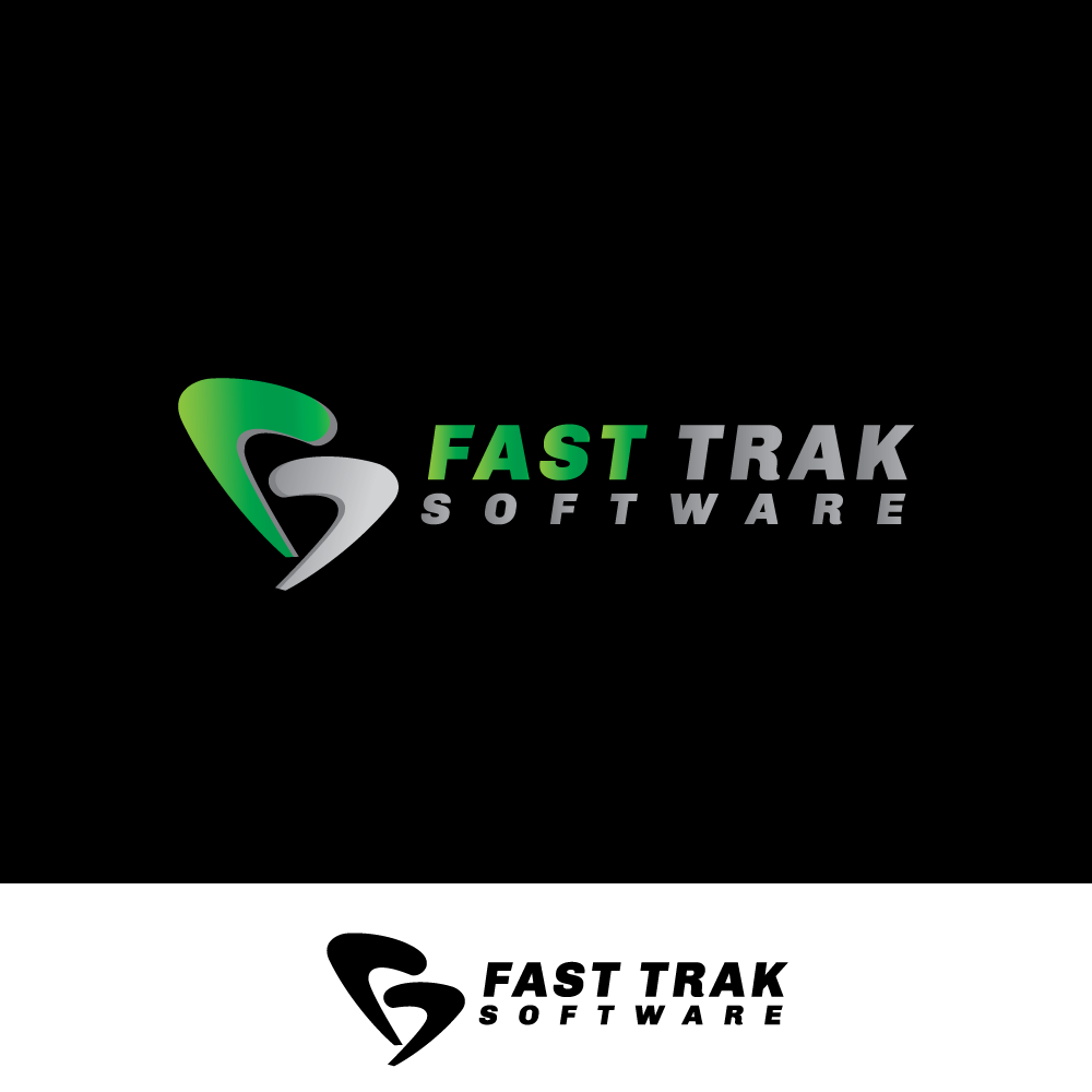 Logo Design by rockin - Entry No. 2 in the Logo Design Contest Fast Trak Software Logo Design.