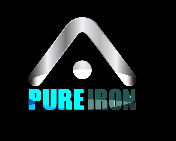 Logo Design by Diana Roder - Entry No. 215 in the Logo Design Contest Fun Logo Design for Pure Iron.
