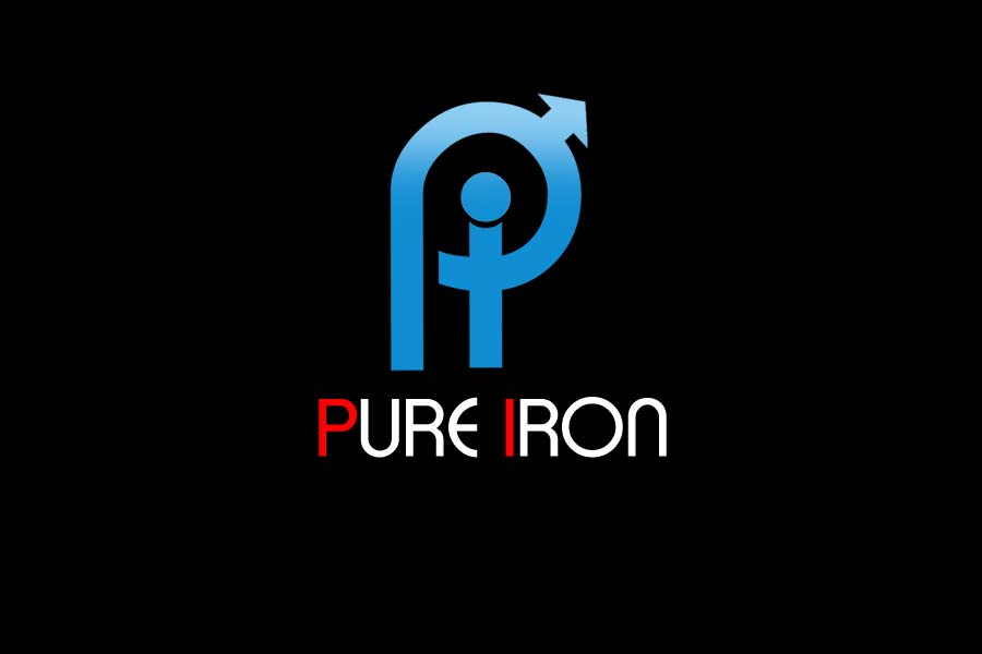 Logo Design by Private User - Entry No. 217 in the Logo Design Contest Fun Logo Design for Pure Iron.