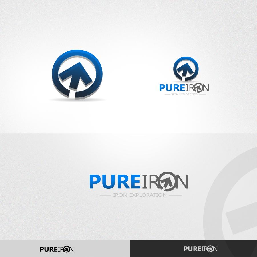 Logo Design by rockpinoy - Entry No. 220 in the Logo Design Contest Fun Logo Design for Pure Iron.