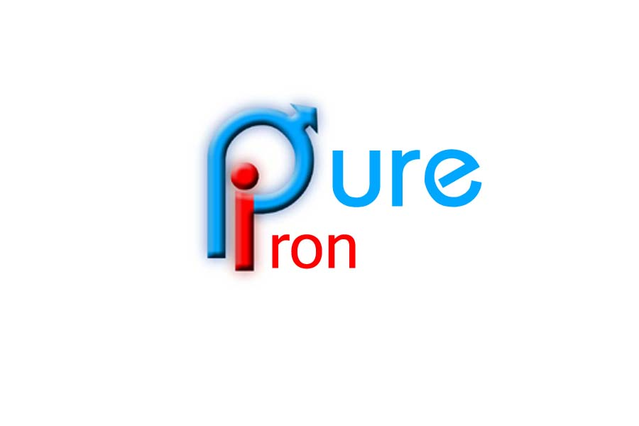 Logo Design by Private User - Entry No. 222 in the Logo Design Contest Fun Logo Design for Pure Iron.