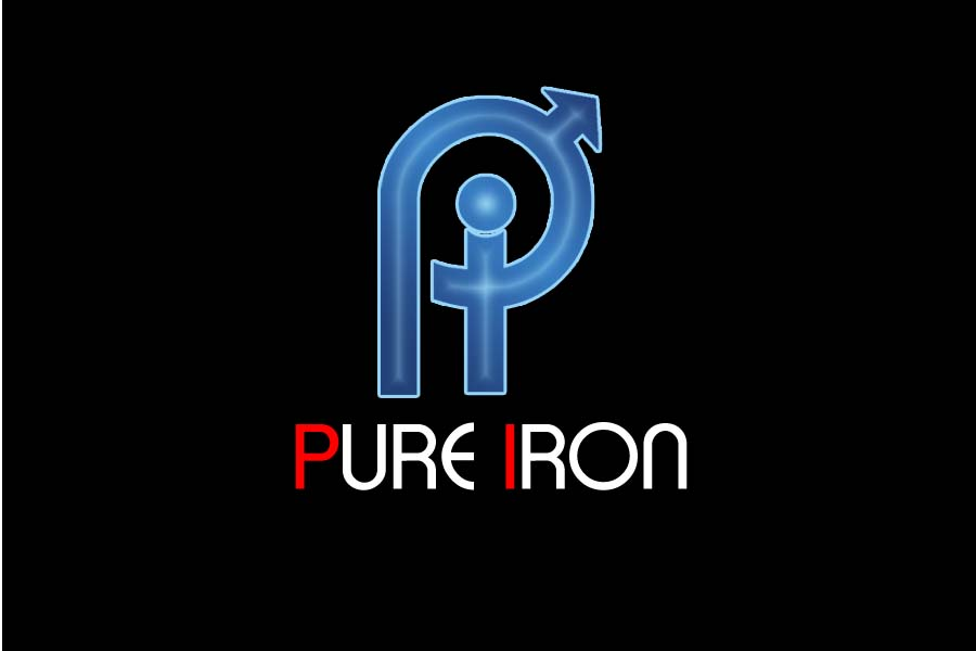 Logo Design by Private User - Entry No. 225 in the Logo Design Contest Fun Logo Design for Pure Iron.