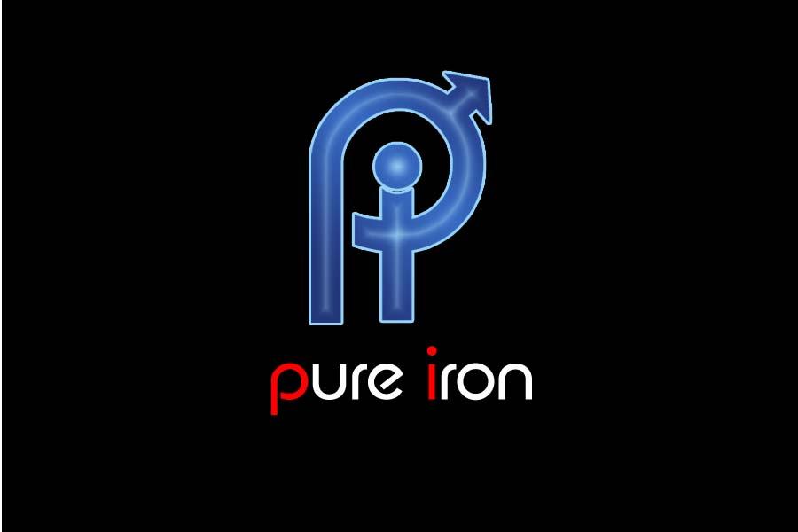 Logo Design by Private User - Entry No. 227 in the Logo Design Contest Fun Logo Design for Pure Iron.