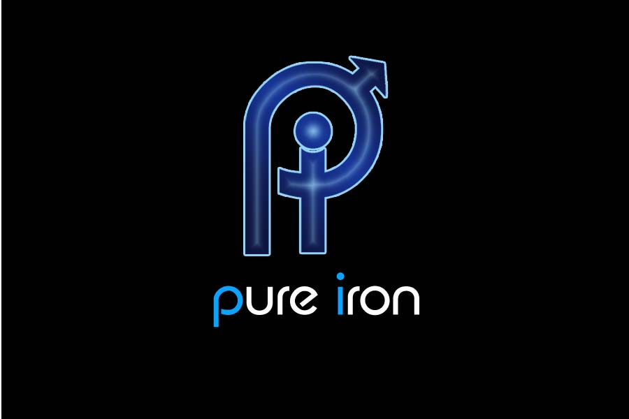 Logo Design by Private User - Entry No. 228 in the Logo Design Contest Fun Logo Design for Pure Iron.