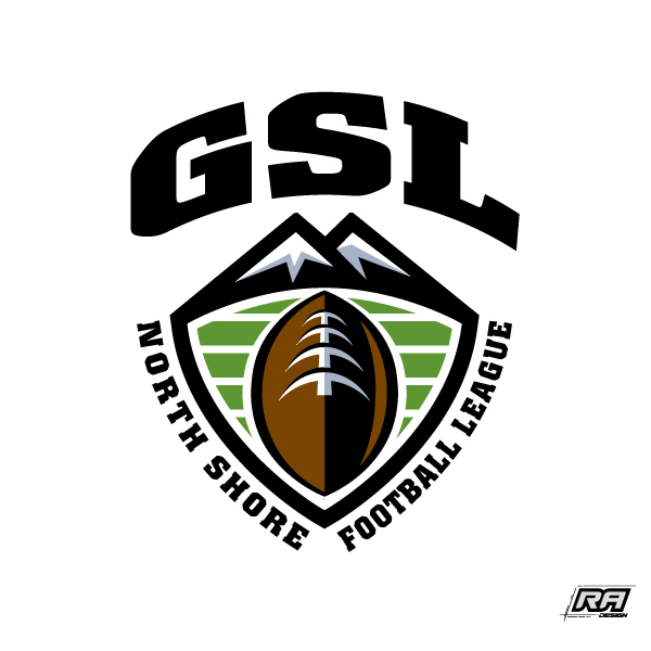Logo Design by RA-Design - Entry No. 31 in the Logo Design Contest Unique Logo Design Wanted for GSL Football, also known as North Shore Football.