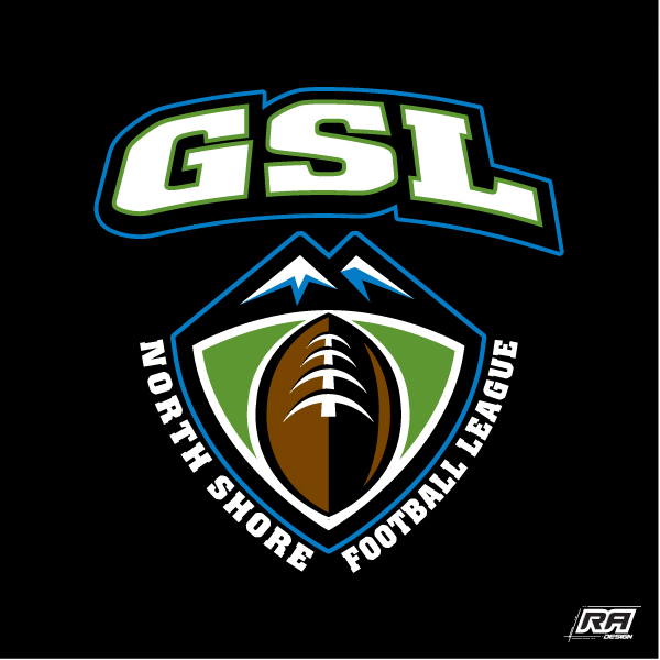 Logo Design by RA-Design - Entry No. 34 in the Logo Design Contest Unique Logo Design Wanted for GSL Football, also known as North Shore Football.