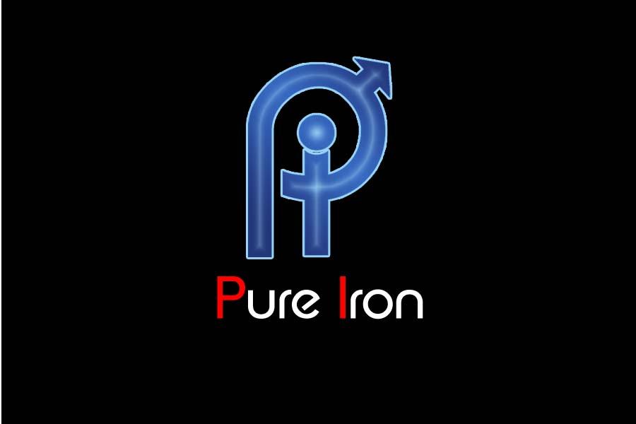 Logo Design by Private User - Entry No. 232 in the Logo Design Contest Fun Logo Design for Pure Iron.