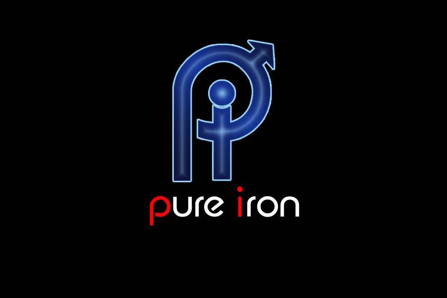 Logo Design by Private User - Entry No. 235 in the Logo Design Contest Fun Logo Design for Pure Iron.
