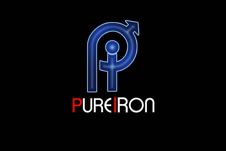 Logo Design by Private User - Entry No. 236 in the Logo Design Contest Fun Logo Design for Pure Iron.