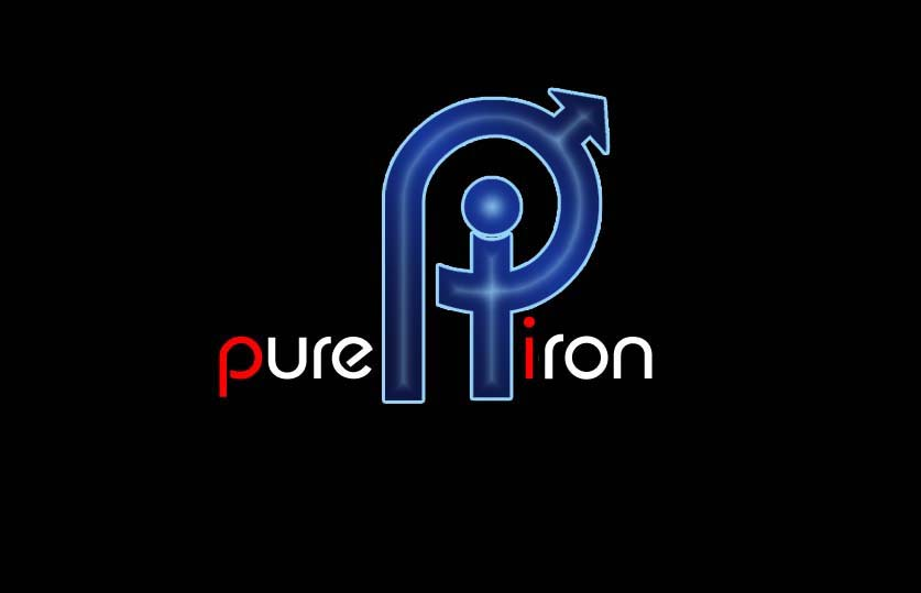 Logo Design by Private User - Entry No. 237 in the Logo Design Contest Fun Logo Design for Pure Iron.