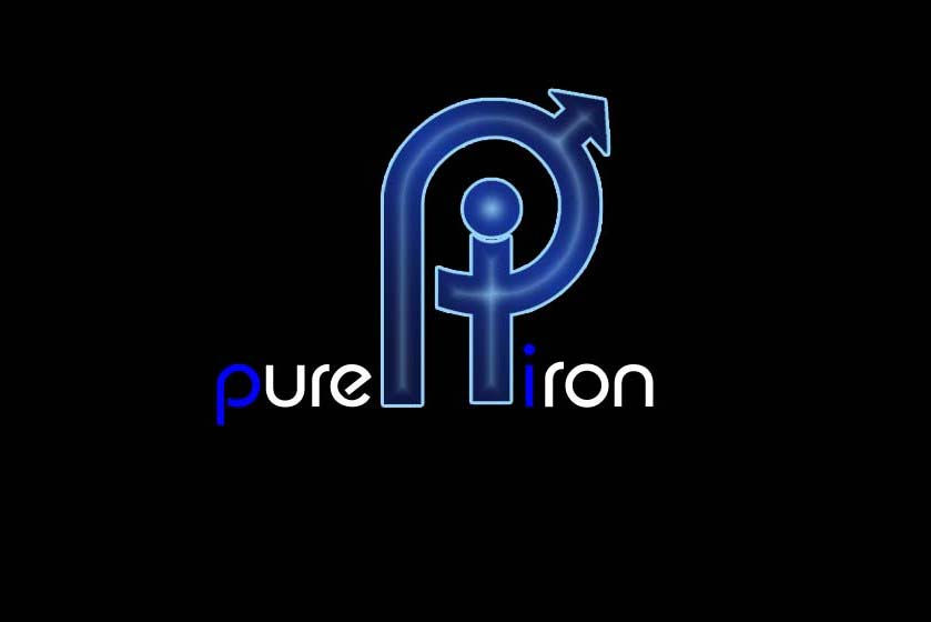 Logo Design by Private User - Entry No. 238 in the Logo Design Contest Fun Logo Design for Pure Iron.