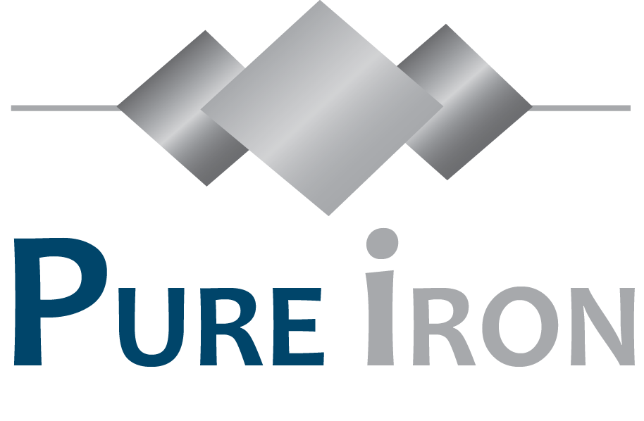 Logo Design by Saakshi Khanna - Entry No. 244 in the Logo Design Contest Fun Logo Design for Pure Iron.