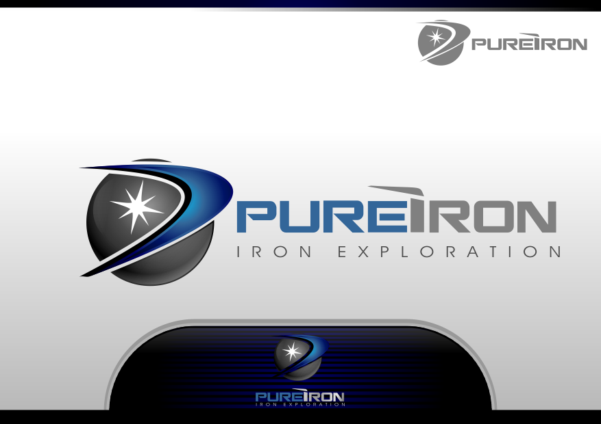 Logo Design by Spayer - Entry No. 245 in the Logo Design Contest Fun Logo Design for Pure Iron.