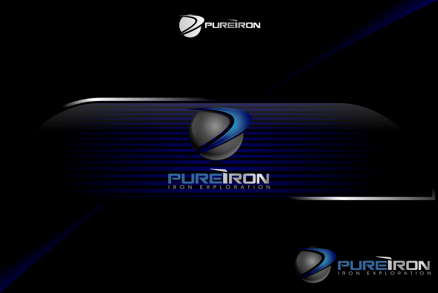 Logo Design by Spayer - Entry No. 246 in the Logo Design Contest Fun Logo Design for Pure Iron.