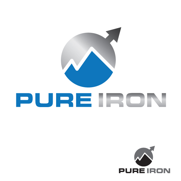 Logo Design by storm - Entry No. 247 in the Logo Design Contest Fun Logo Design for Pure Iron.