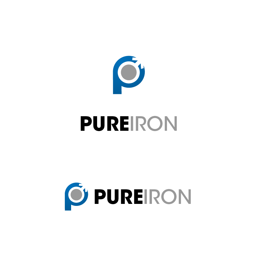 Logo Design by zesthar - Entry No. 248 in the Logo Design Contest Fun Logo Design for Pure Iron.