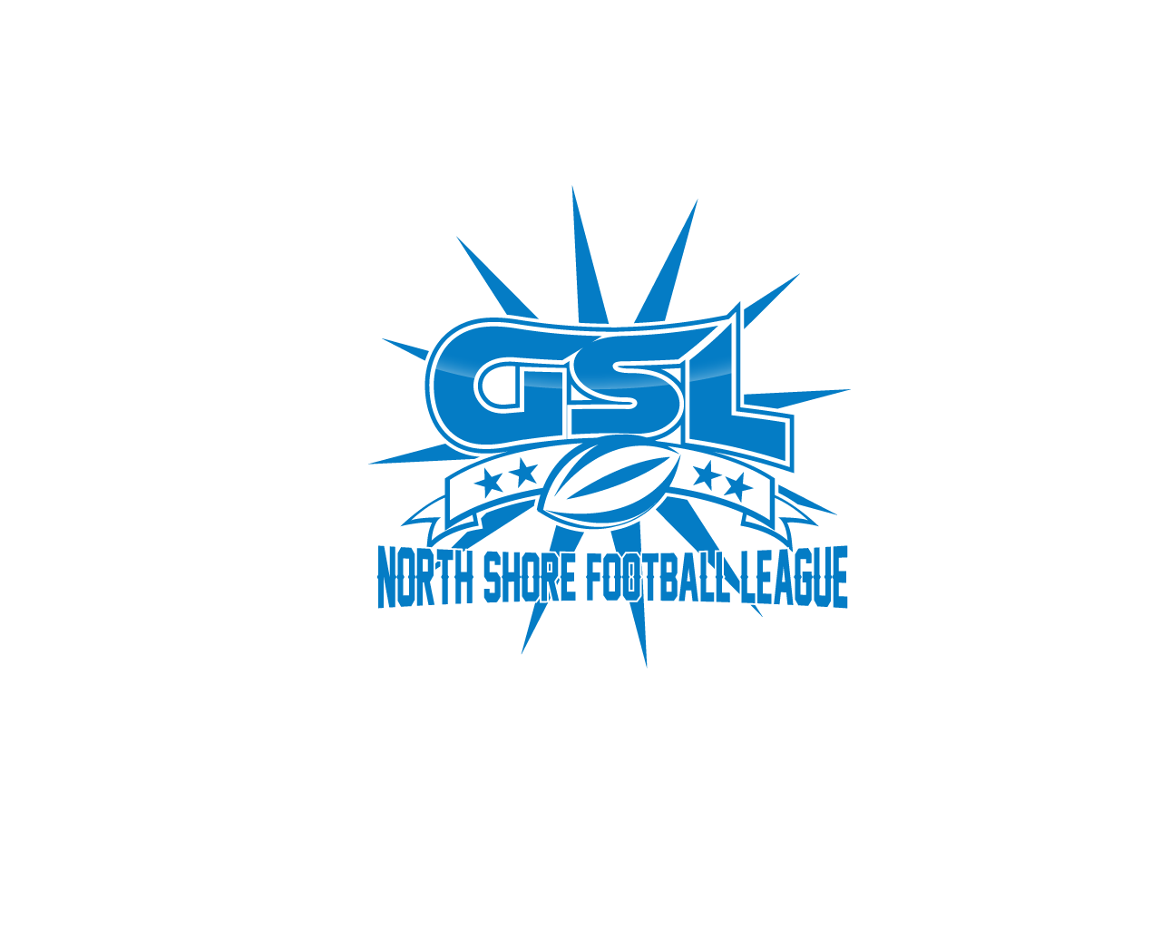 Logo Design by Omar Martinez - Entry No. 35 in the Logo Design Contest Unique Logo Design Wanted for GSL Football, also known as North Shore Football.
