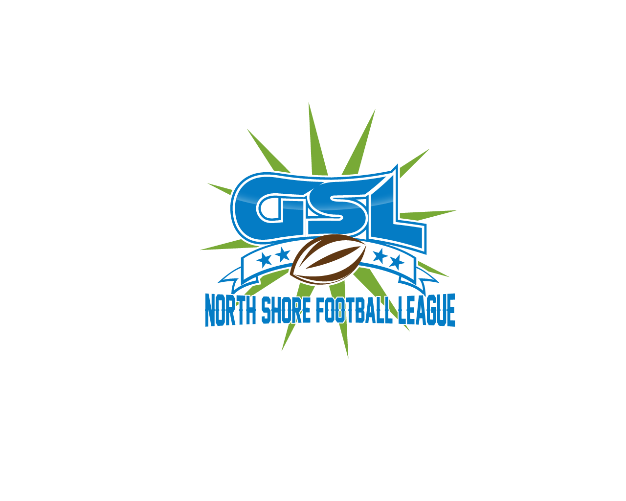 Logo Design by Omar Martinez - Entry No. 36 in the Logo Design Contest Unique Logo Design Wanted for GSL Football, also known as North Shore Football.