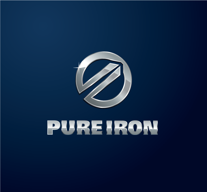 Logo Design by Private User - Entry No. 249 in the Logo Design Contest Fun Logo Design for Pure Iron.