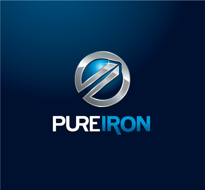Logo Design by Private User - Entry No. 250 in the Logo Design Contest Fun Logo Design for Pure Iron.