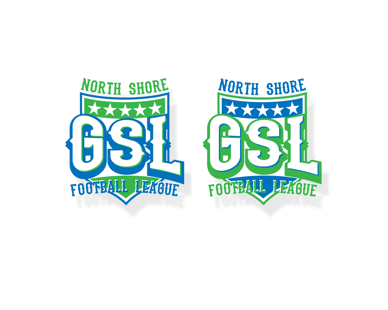 Logo Design by Omar Martinez - Entry No. 38 in the Logo Design Contest Unique Logo Design Wanted for GSL Football, also known as North Shore Football.