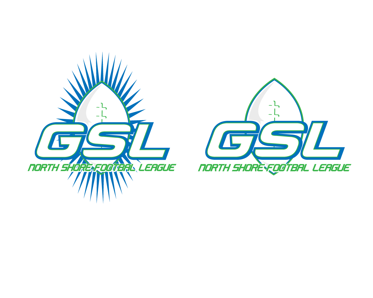 Logo Design by Omar Martinez - Entry No. 39 in the Logo Design Contest Unique Logo Design Wanted for GSL Football, also known as North Shore Football.