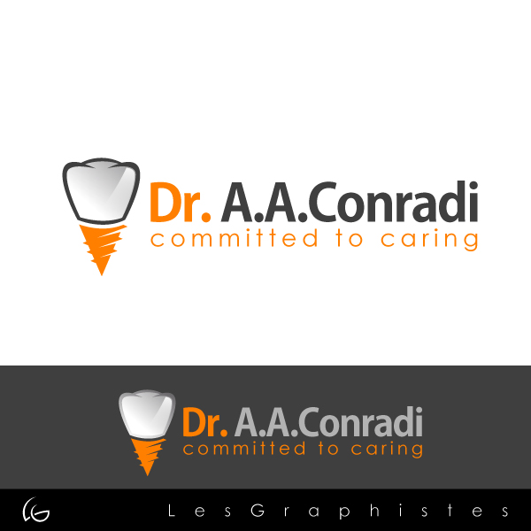 Logo Design by Les-Graphistes - Entry No. 4 in the Logo Design Contest Unique Logo Design Wanted for Dr. A.A. Conradi.
