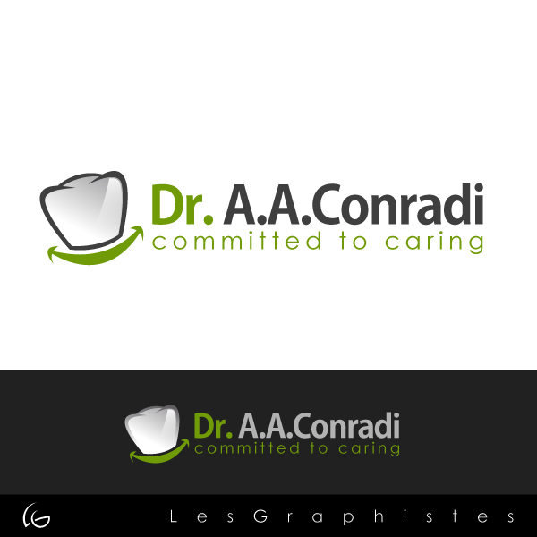 Logo Design by Les-Graphistes - Entry No. 5 in the Logo Design Contest Unique Logo Design Wanted for Dr. A.A. Conradi.