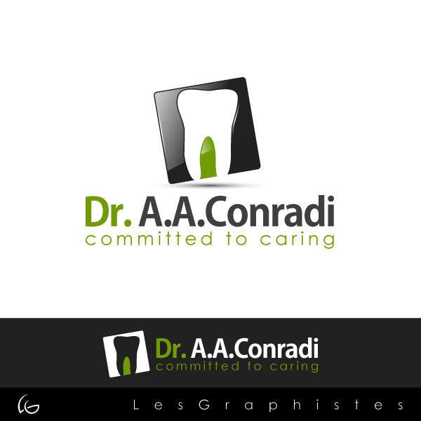 Logo Design by Les-Graphistes - Entry No. 6 in the Logo Design Contest Unique Logo Design Wanted for Dr. A.A. Conradi.