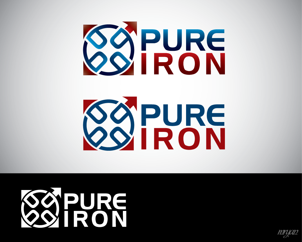 Logo Design by Private User - Entry No. 254 in the Logo Design Contest Fun Logo Design for Pure Iron.