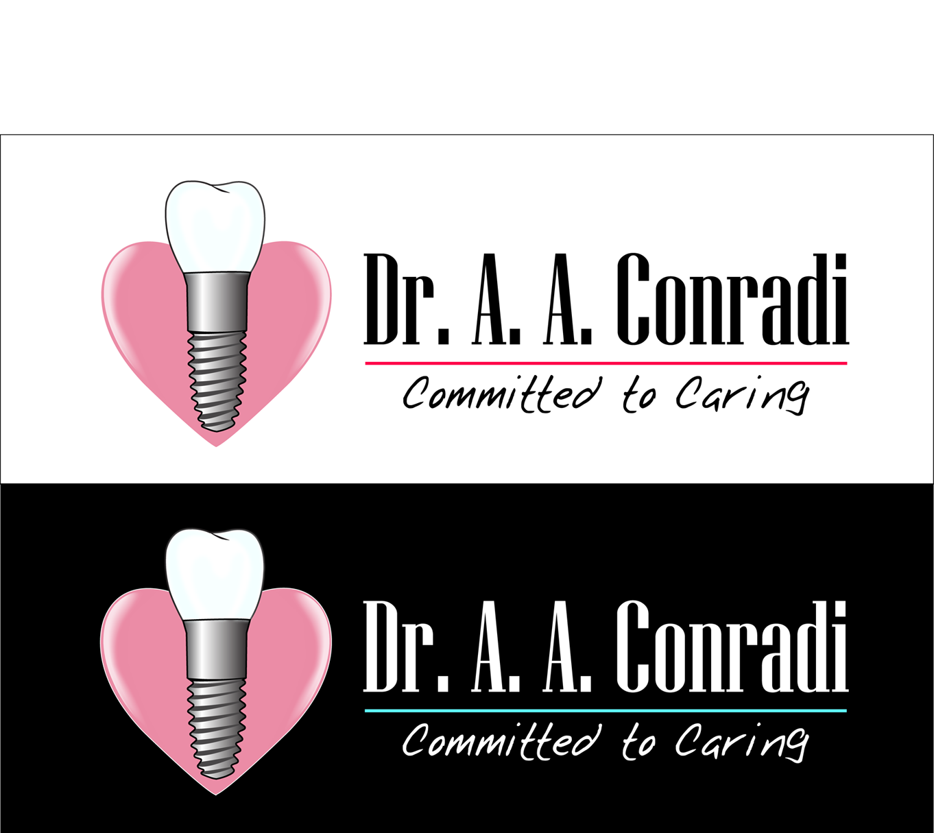 Logo Design by robken0174 - Entry No. 9 in the Logo Design Contest Unique Logo Design Wanted for Dr. A.A. Conradi.