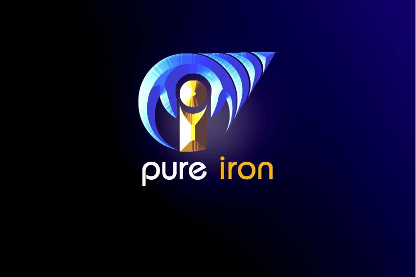 Logo Design by Private User - Entry No. 259 in the Logo Design Contest Fun Logo Design for Pure Iron.