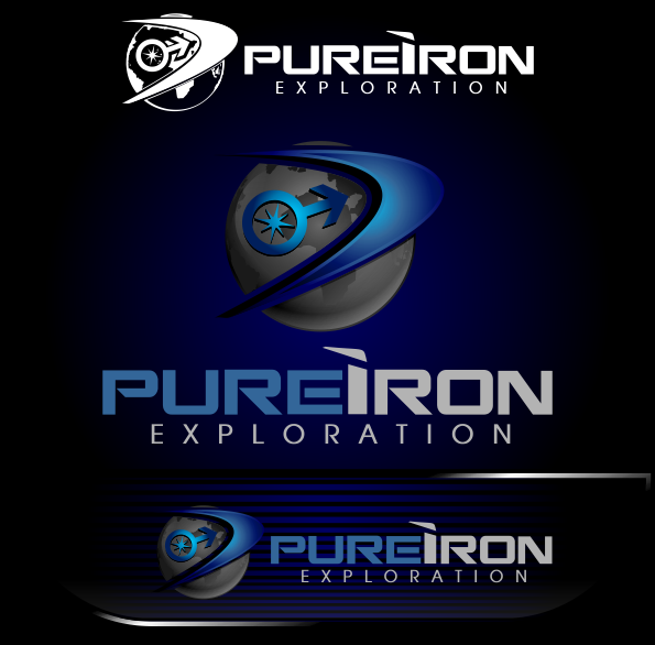 Logo Design by Spayer - Entry No. 261 in the Logo Design Contest Fun Logo Design for Pure Iron.