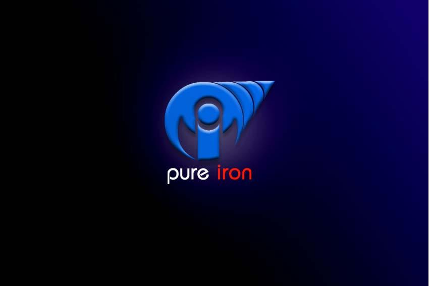Logo Design by Private User - Entry No. 264 in the Logo Design Contest Fun Logo Design for Pure Iron.