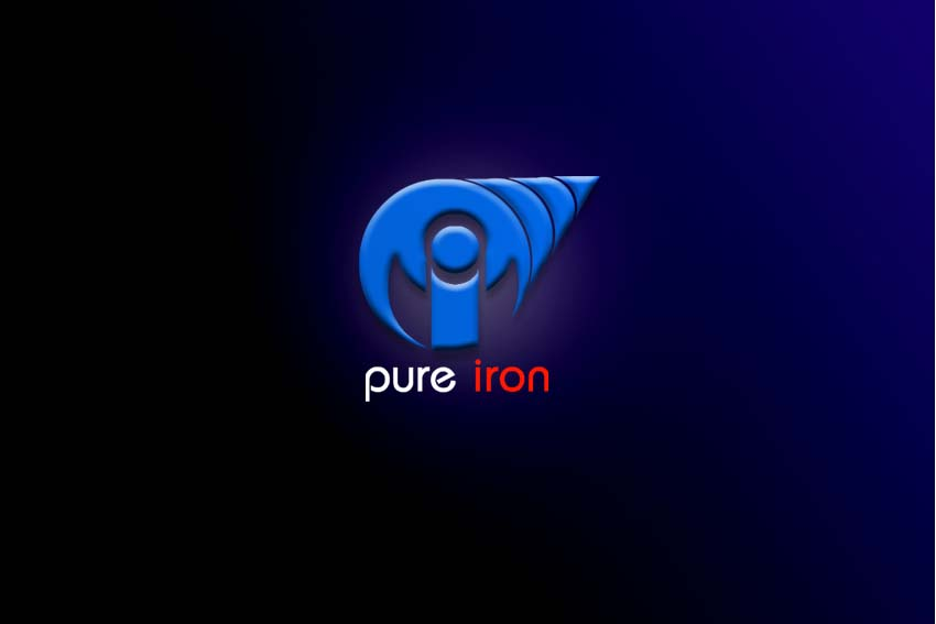 Logo Design by Private User - Entry No. 265 in the Logo Design Contest Fun Logo Design for Pure Iron.