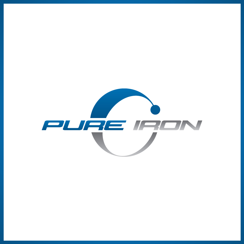 Logo Design by Number-Eight-Design - Entry No. 267 in the Logo Design Contest Fun Logo Design for Pure Iron.
