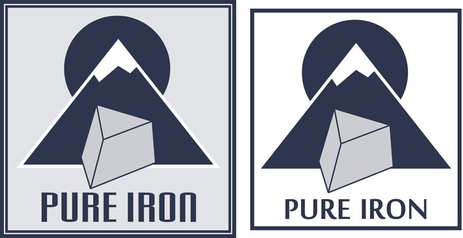 Logo Design by modo - Entry No. 270 in the Logo Design Contest Fun Logo Design for Pure Iron.
