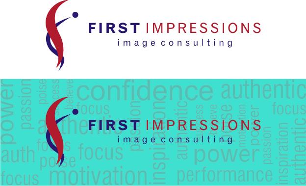 Logo Design by Artbeno Artbeno - Entry No. 126 in the Logo Design Contest First Impressions Image Consulting Logo Design.