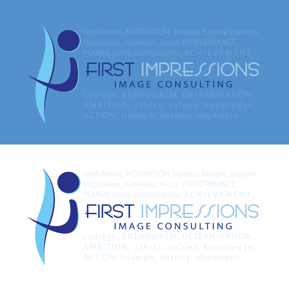 Logo Design by rockin - Entry No. 129 in the Logo Design Contest First Impressions Image Consulting Logo Design.
