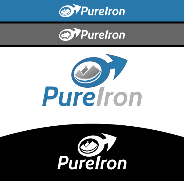 Logo Design by Spayer - Entry No. 277 in the Logo Design Contest Fun Logo Design for Pure Iron.