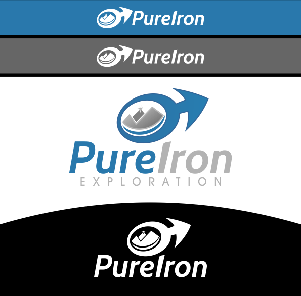 Logo Design by Spayer - Entry No. 278 in the Logo Design Contest Fun Logo Design for Pure Iron.