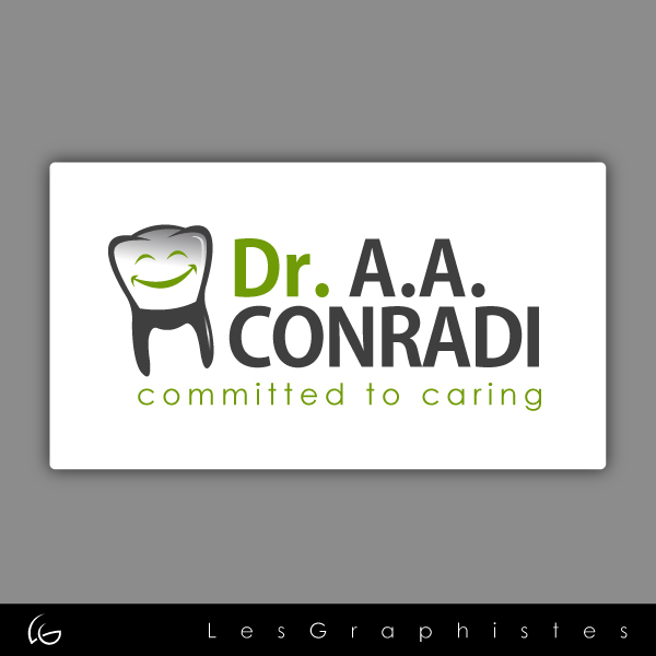 Logo Design by Les-Graphistes - Entry No. 14 in the Logo Design Contest Unique Logo Design Wanted for Dr. A.A. Conradi.