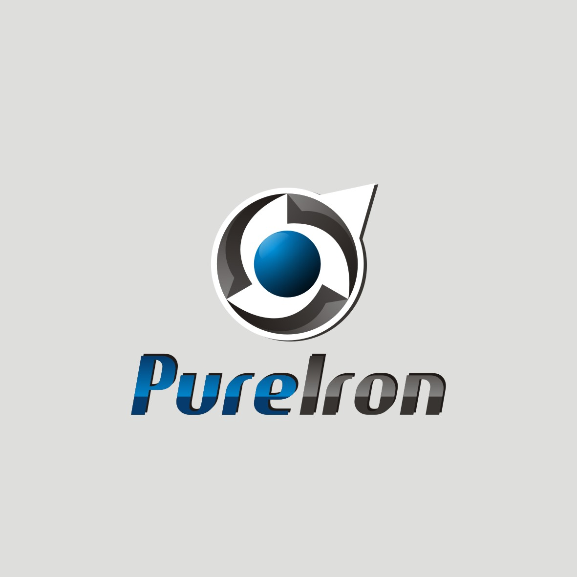 Logo Design by arteo_design - Entry No. 281 in the Logo Design Contest Fun Logo Design for Pure Iron.