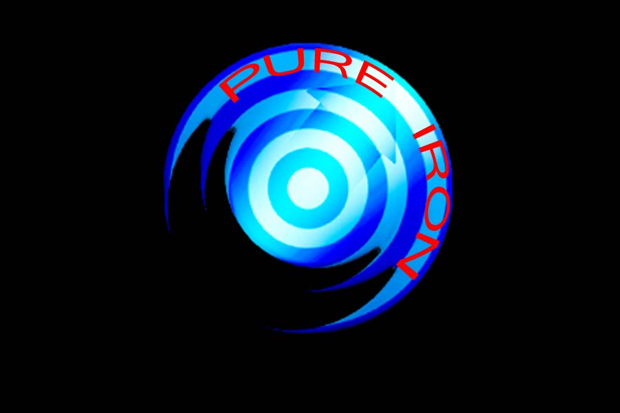 Logo Design by Private User - Entry No. 282 in the Logo Design Contest Fun Logo Design for Pure Iron.