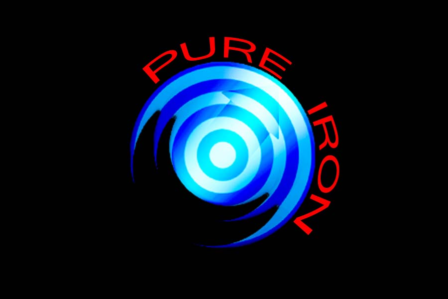Logo Design by Private User - Entry No. 283 in the Logo Design Contest Fun Logo Design for Pure Iron.