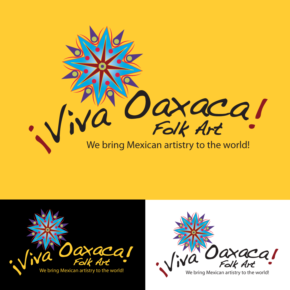 Logo Design by storm - Entry No. 14 in the Logo Design Contest Logo Design Needed for Mexican Handcrafts Website - Viva Oaxaca Folk Art.