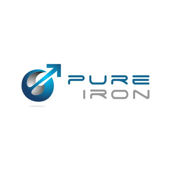 Logo Design by Rudy - Entry No. 287 in the Logo Design Contest Fun Logo Design for Pure Iron.