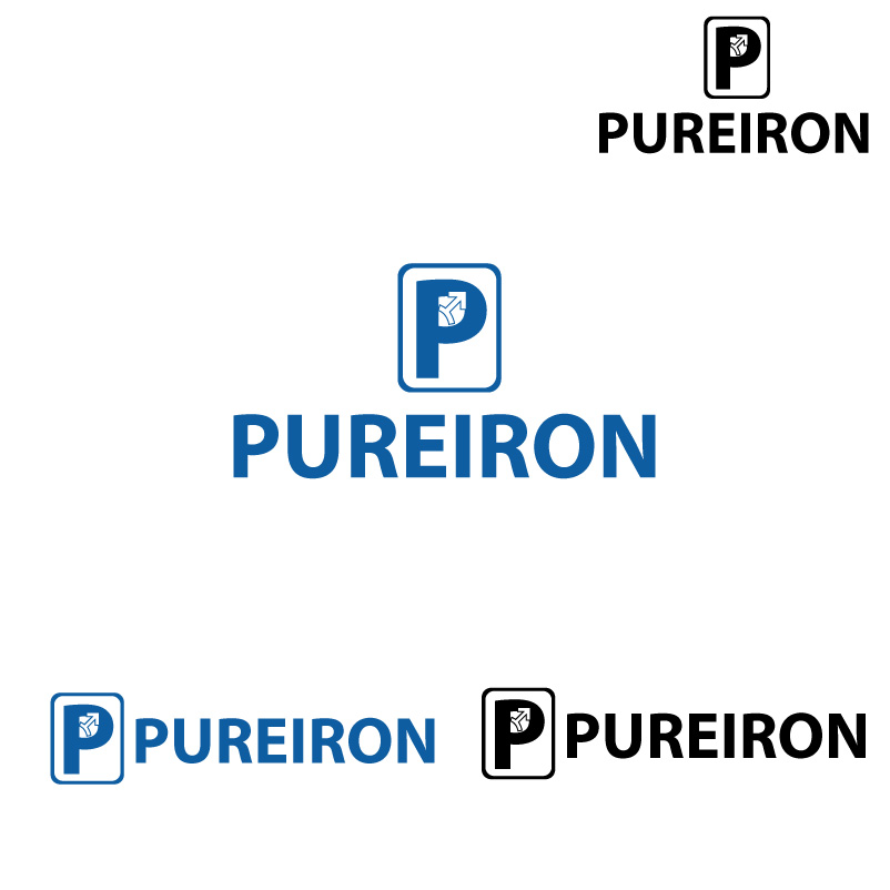 Logo Design by Vikas Misra - Entry No. 290 in the Logo Design Contest Fun Logo Design for Pure Iron.