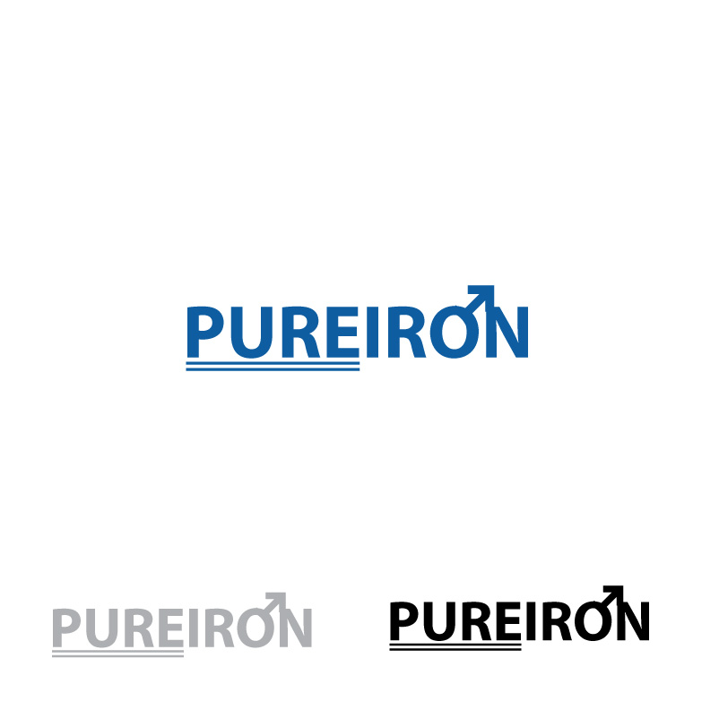 Logo Design by Vikas Misra - Entry No. 291 in the Logo Design Contest Fun Logo Design for Pure Iron.